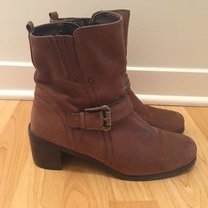 Blondo Miora -Waterproof leather boots size 8